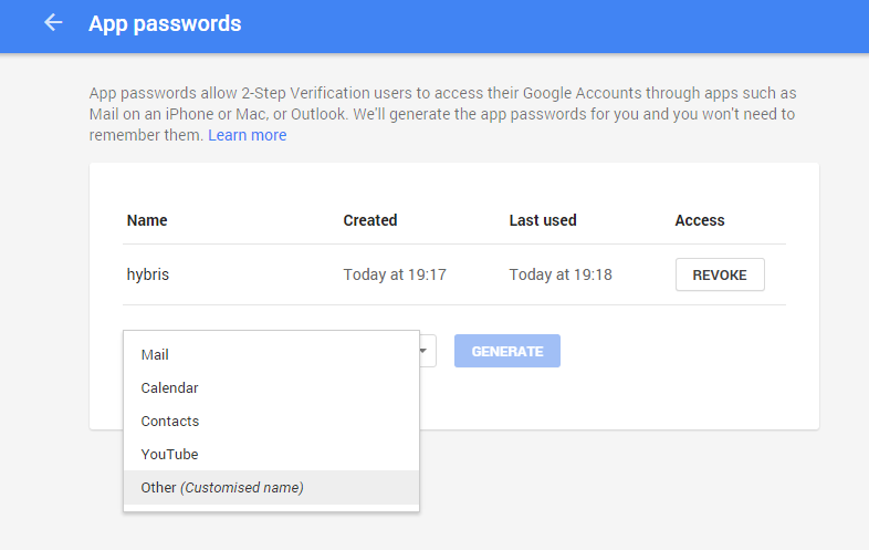 Application-specific password required  Gmail smtp not